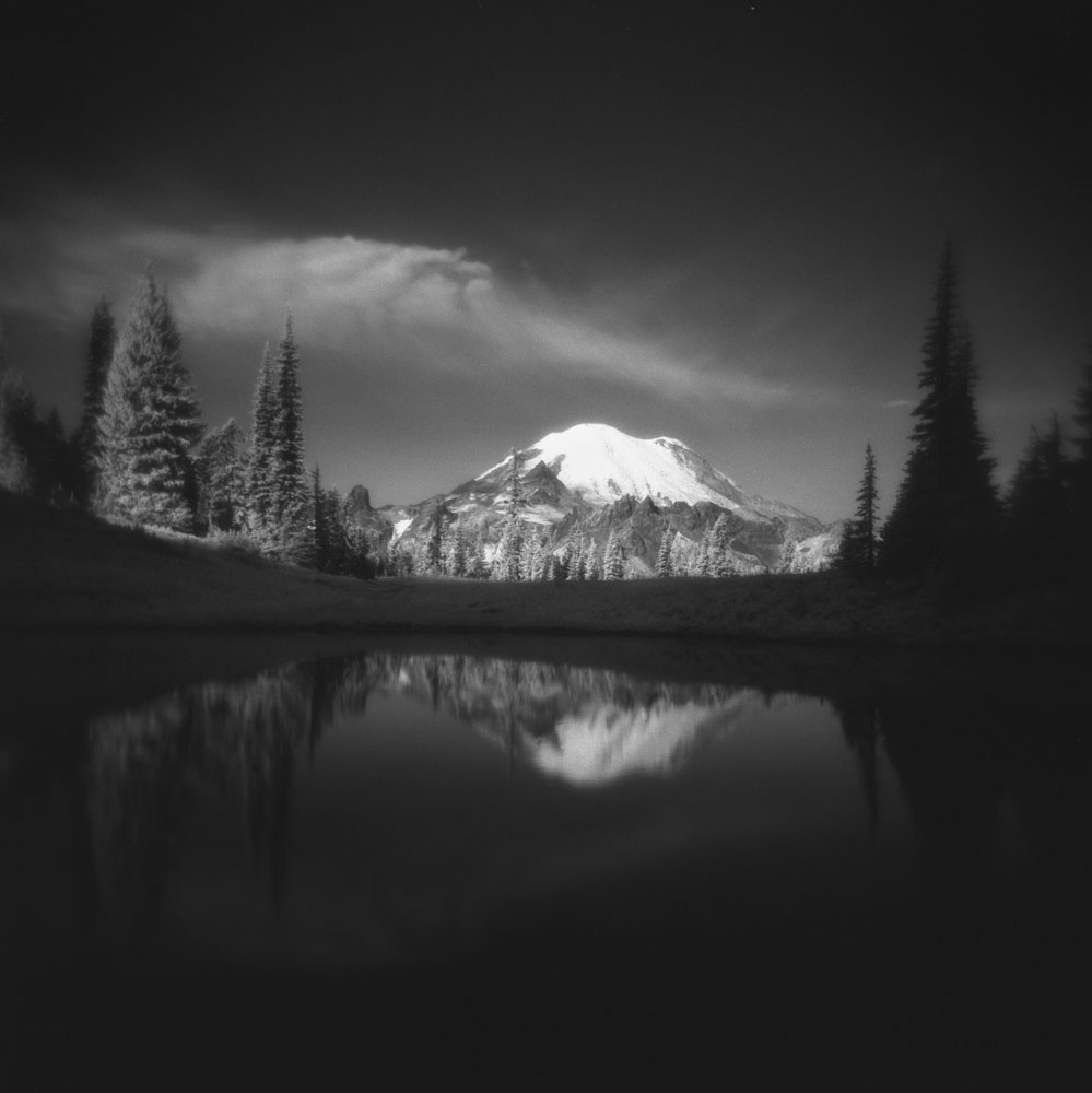 tipsoo lake rainier
